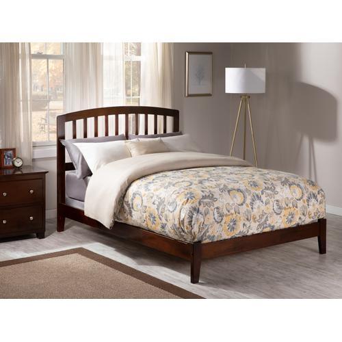 Atlantic Furniture - Richmond Full Bed in Walnut