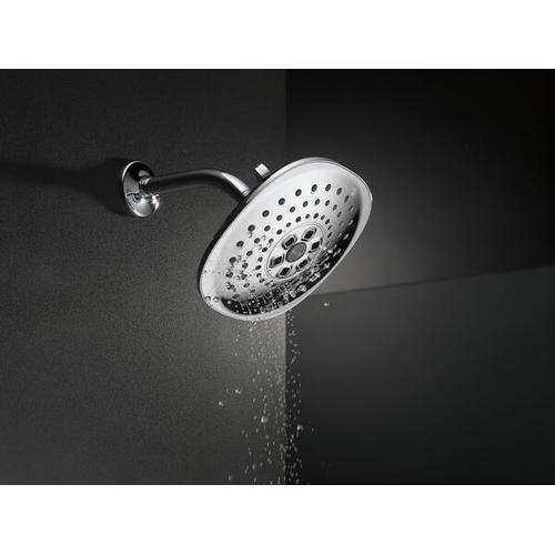Champagne Bronze H 2 Okinetic ® 3-Setting Raincan Shower Head