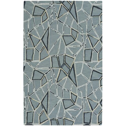 Shattered Aluminum Hand Tufted Rugs