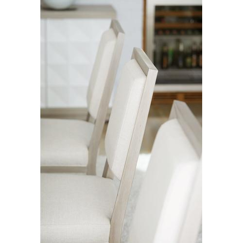 Axiom Side Chair in Linear Gray (381)