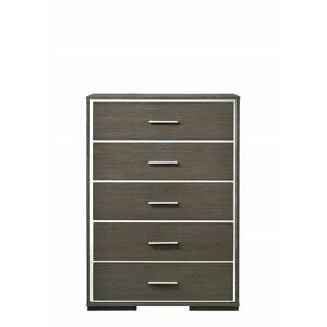 ACME Escher Chest - 27656 - Contemporary - Melamine Veneer, MDF, PB - Gray Oak