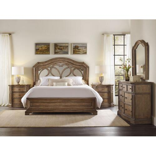 Bedroom Solana Three-Drawer Nightstand