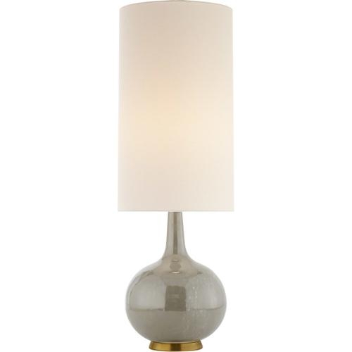 AERIN Hunlen 25 inch 75 watt Shellish Gray Table Lamp Portable Light