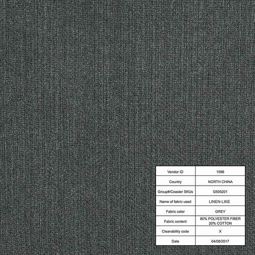 Stansall Mid-century Modern Grey Loveseat