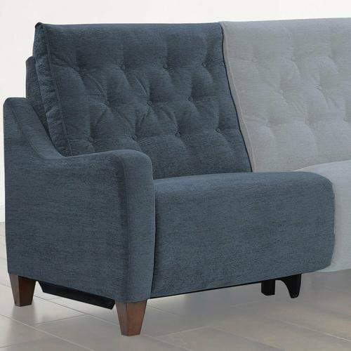 Parker House - CHELSEA - WILLOW BLUE Power Left Arm Facing Recliner