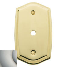 Satin Nickel Colonial Cable Cover