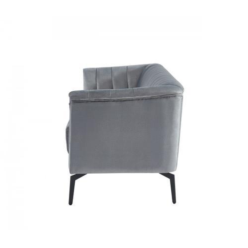 VIG Furniture - Divani Casa Patton - Modern Grey Fabric Sofa