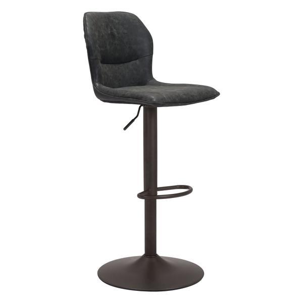 See Details - Vital Bar Chair Vintage Black