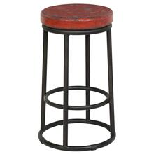 "Jaden 24"" Counter Stool Red"