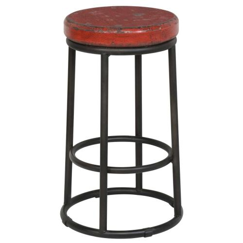 Classic Home - Jaden Counter Stool Old Red