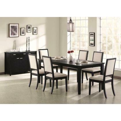 See Details - Louise Transitional Five-piece Dining Set