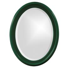 View Product - George Mirror - Glossy Hunter Green