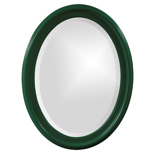 Howard Elliott - George Mirror - Glossy Hunter Green