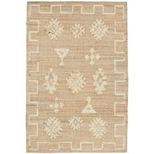 View Product - Raposa Natural/Ivory 5x8