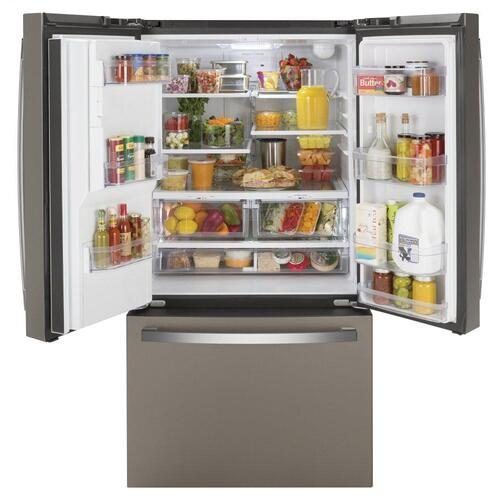 Product Image - GE® ENERGY STAR® 25.6 Cu. Ft. French-Door Refrigerator