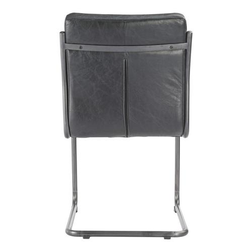 Moe's Home Collection - Ansel Dining Chair Black-m2
