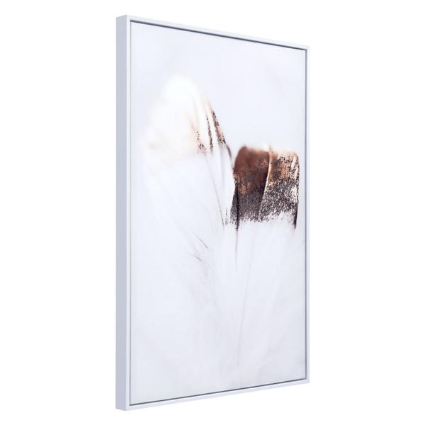 See Details - Delicate Feather Canvas Multicolor