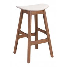 Allen Barstool Gray & Walnut