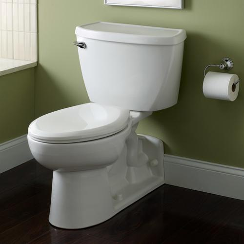 Yorkville 1.6 gpf Elongated Pressure Assisted Toilet - White