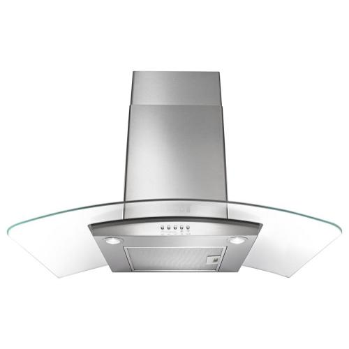 """Maytag - 30"""" Concave Glass Wall Mount Range Hood"""