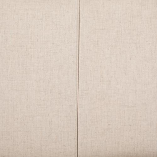King Size Savile Flax Cover Dixon Headboard