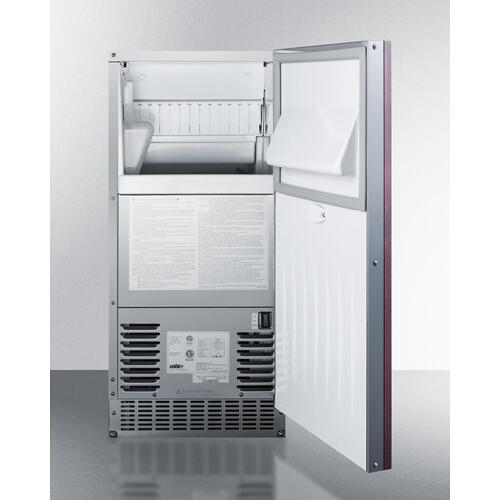 62 Lb. Clear Outdoor/indoor Icemaker