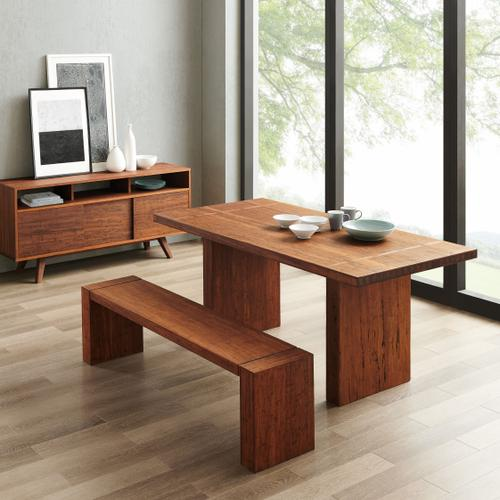 """Sequoia 84"""" Dining Table, Distressed Exotic"""