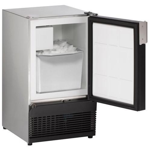 """Ss98nf 15"""" Crescent Ice Maker With Stainless Solid Finish (115 V/60 Hz Volts /60 Hz Hz)"""