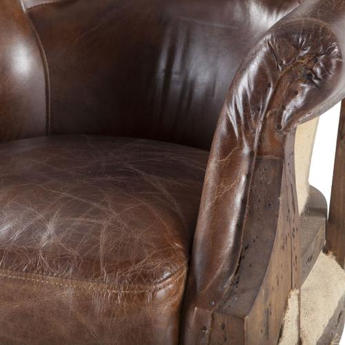 Product Image - Shakespeare Deconstructed Armchair with Cigar Leather