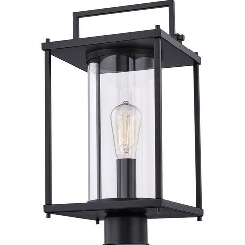 Quoizel - Garrett Outdoor Lantern in Matte Black