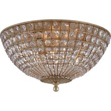 AERIN Renwick 3 Light 17 inch Gild Flush Mount Ceiling Light