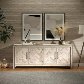 See Details - Gramercy 4 Door Accent Cabinet