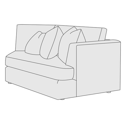Sydney Right Arm Chaise