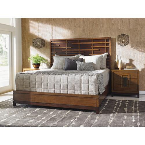 Shanghai Panel Bed California King