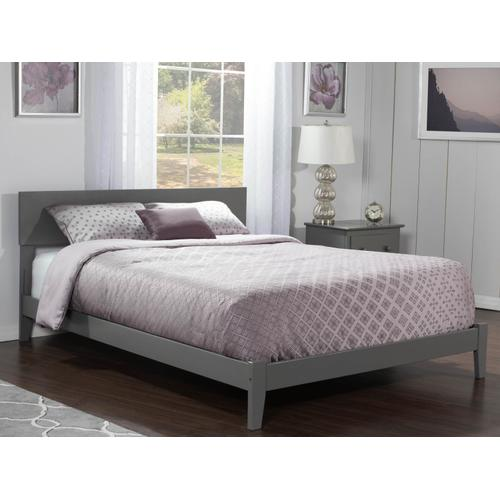 Orlando Full Bed in Atlantic Grey