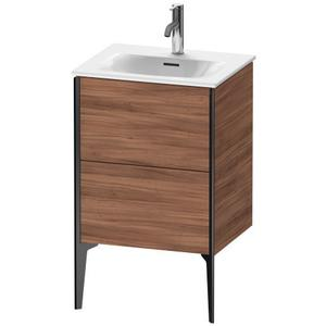 Vanity Unit Floorstanding, Natural Walnut (decor)