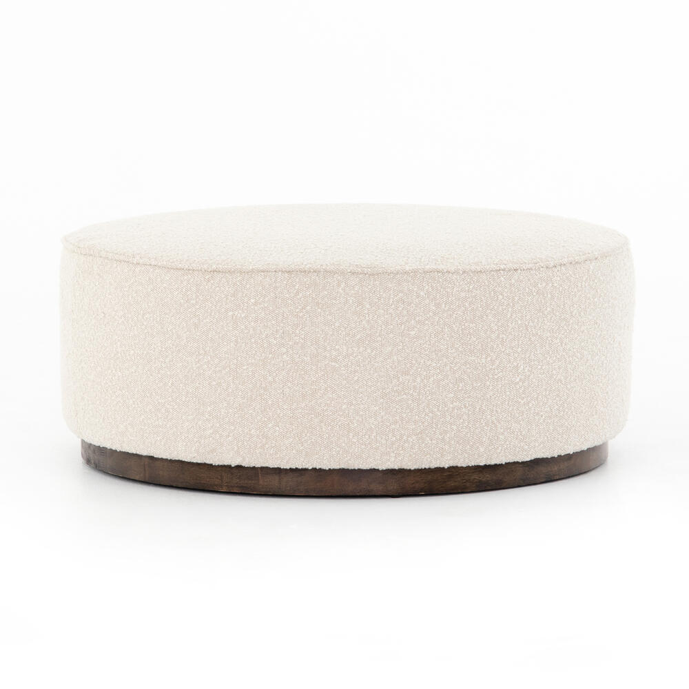 Knoll Natural Cover Sinclair Large Round Ottoman