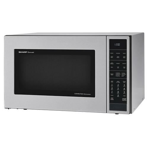 CLOSEOUT 1.5 cu. ft. 900W Sharp Stainless Steel Carousel Convection   Microwave