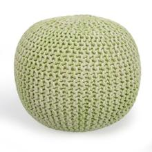 See Details - A beautiful room accent, this woven pouffe is ideal for extra seating where space is limited. Resembling a pincushion, it features a 100% wool felt outer shell and high density thermocol beans inside for comfort and durability.