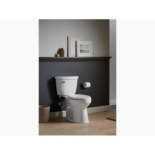 Kohler - Dune Two-piece Elongated 1.28 Gpf Chair Height Toilet