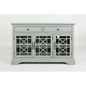 "Craftsman 50"" Media Unit - Earl Grey"