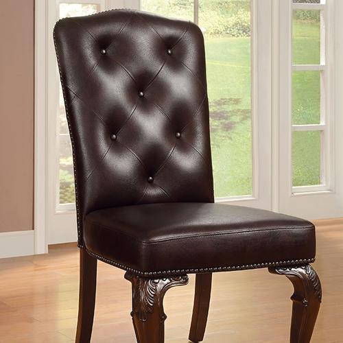 Bellagio Leatherette Side Chair (2/Box)