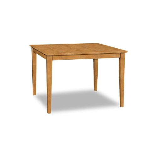 Square Table (top only) / Shaker Legs