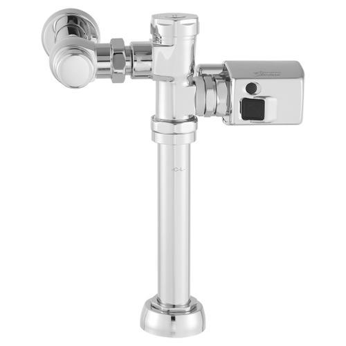 American Standard - Sensor-Operated Toilet Flush Valve - 1.6 GPF  American Standard - Polished Chrome