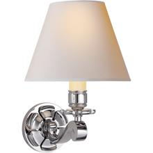 Alexa Hampton Bing 1 Light 8 inch Polished Nickel Decorative Wall Light