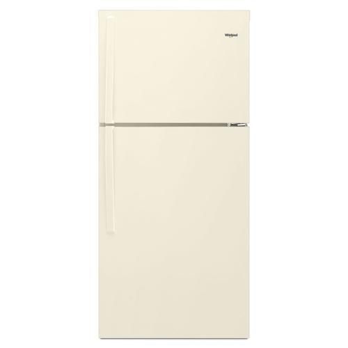 Whirlpool - 30-inch Wide Top Freezer Refrigerator - 19 cu. ft. Biscuit
