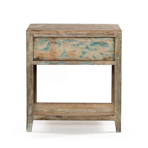 """Home Trends and Design - Ibiza 24"""" Reclaimed Wood Night Stand"""