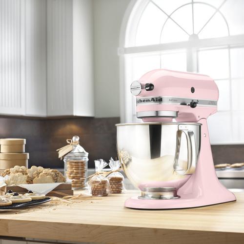 Artisan® Series 5 Quart Tilt-Head Stand Mixer Pink
