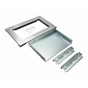 KitchenaidOver-The-Range Microwave Trim Kit, Anti-Fingerprint Stainless Steel - Fingerprint Resistant Stainless Steel