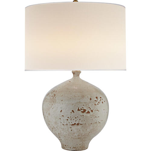 AERIN Gaios 31 inch 150 watt Pharaoh White Table Lamp Portable Light